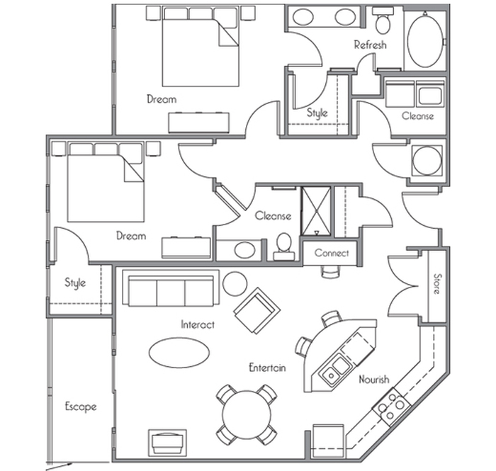 The Sheridan Floor Plan Image